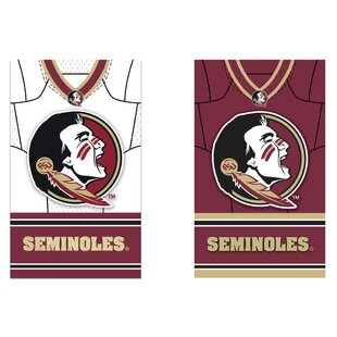 NCAA DS Suede Foil Regular Jersey Polyester 3'7 x 2'5 ft. Banner (Set of 2) By Evergreen Enterprises, Inc
