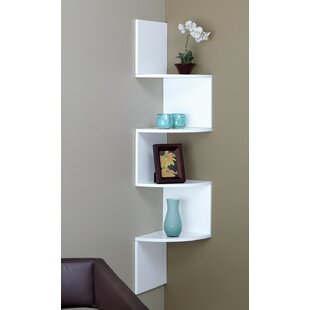 4 Tier Corner Shelf by Brayden Studio Wonderful