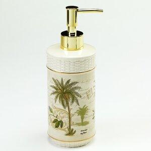 Shelborne Palm Lotion and Soap Dispenser