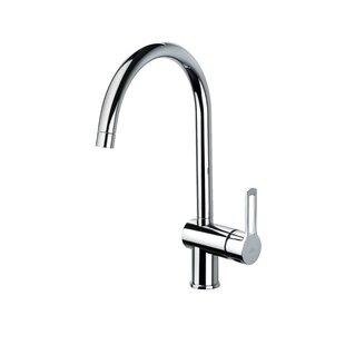 WS Bath Collections Fonte Single Handle Kitchen Faucet