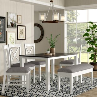 Amaury 6 Piece Dining Set by Laurel Found..