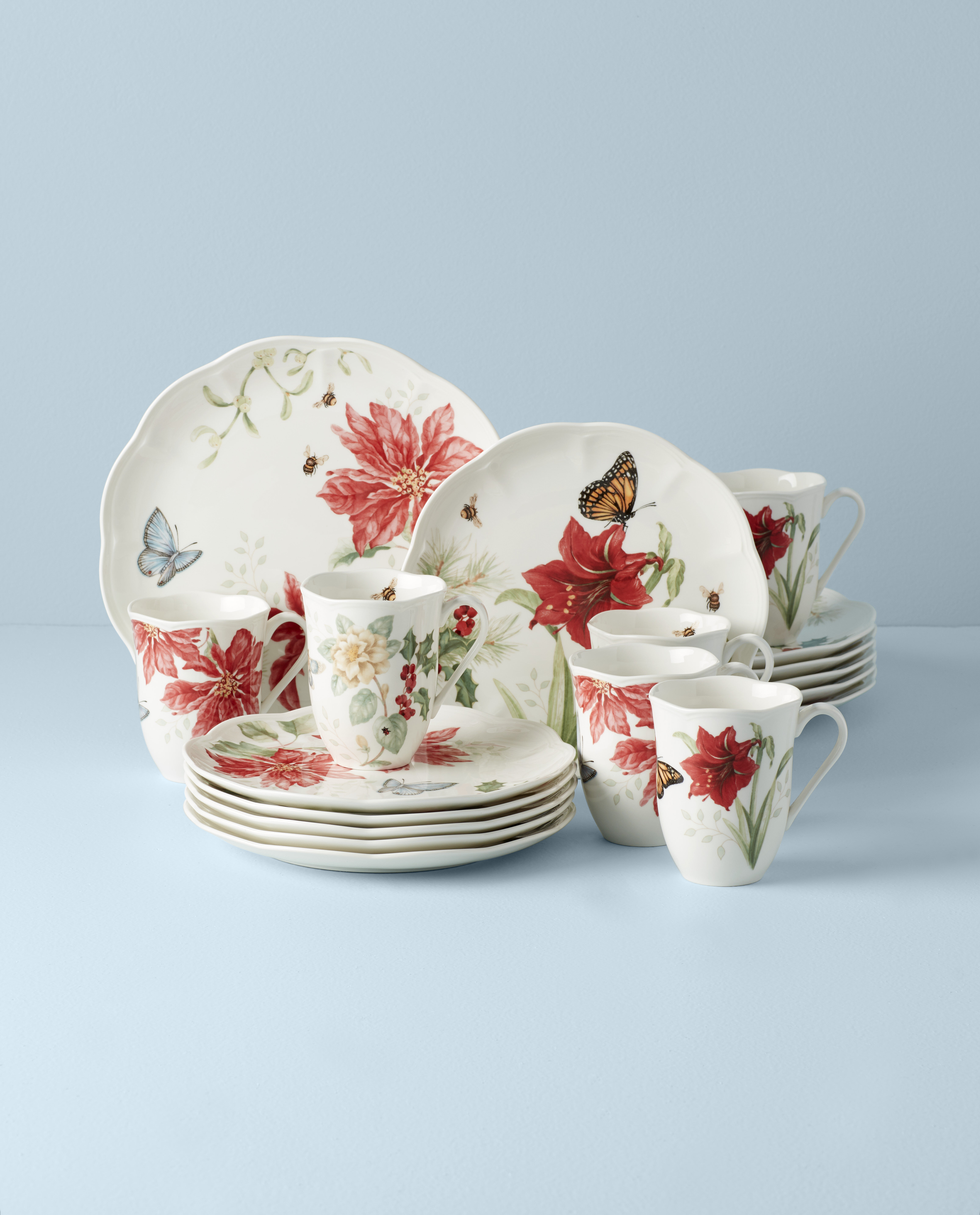 Christmas Dishes Dinnerware Sets You Ll Love In 2021 Wayfair