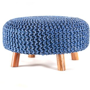 Philips Clermont Ottoman by Bungalow Rose