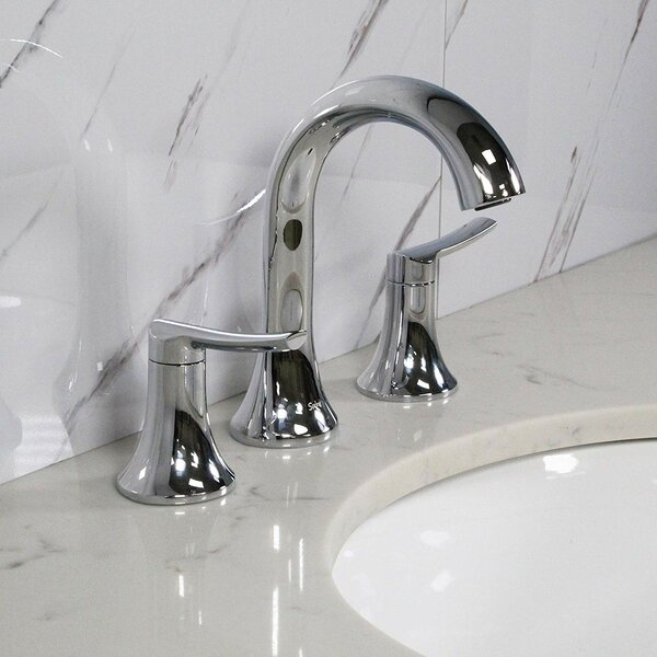 Koozzo Spring Widespread Bathroom Faucet With Drain Assembly Reviews Wayfair