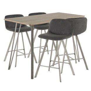 Pinnix Sedona 5 Piece Pub Table Set by Union Rustic