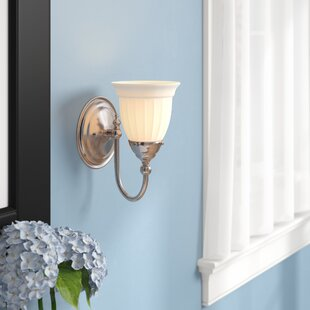 Busch 1-Light Bath Sconce by Charlton Home