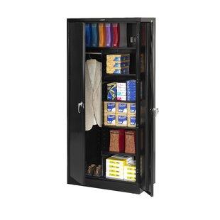 Helena 78H x 36W x 24D 2 Door Storage Cabinet by Rebrilliant