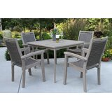 Moana 5 Piece Dining Set