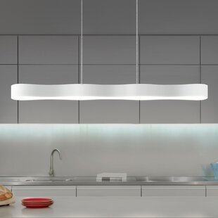 Corso Linear 1-Light Kitchen Island Pendant by Sonneman