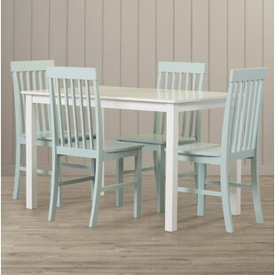 Cienna Dining Set With 4 Chairs By Beachcrest Home