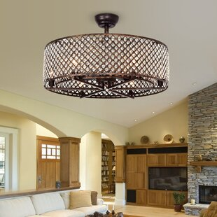 Bungalow Rose Gurrola 3 Blade LED Ceiling Fan with Remote