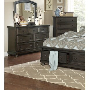 Dianna 7 Drawer Dresser with Mirror by Charlton Home