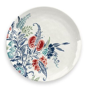 Havana Floral 27cm Melamine Dinner Plate (Set Of 4) By Tar Hong