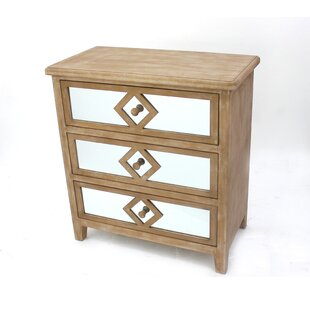3 Drawer Accent Chest by Teton..