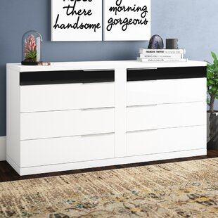 Savings Sabra 8 Drawer Wood Double Dresser by Wade Logan