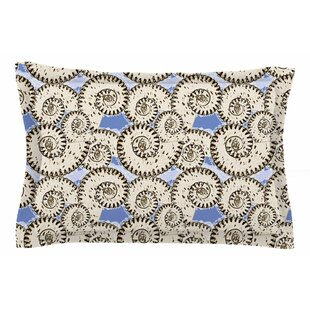Mydeas 'Nautical Breeze - Spiral Seashells' Vector Sham