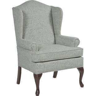 Queene Anne Wingback Chair by Fairfield Chair
