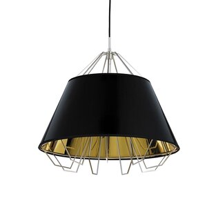 Orren Ellis Davila 1-Light Dome Pendant