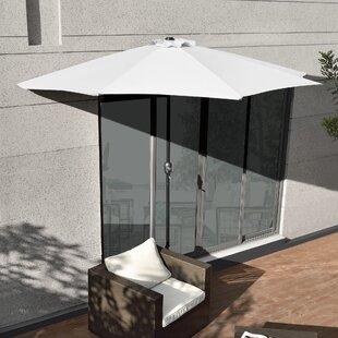 3m Balcony Parasol By Freeport Park