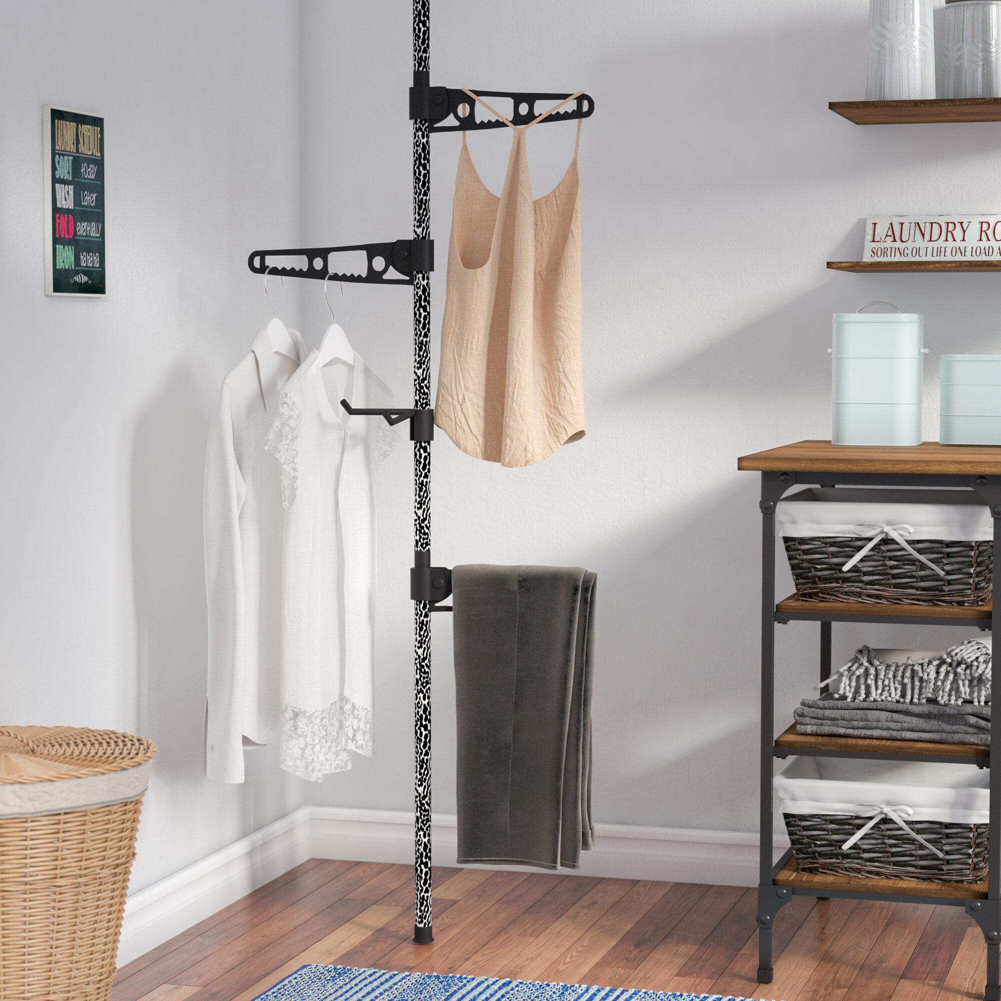 Freestanding Floor Towel Rack Wayfair