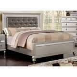 Massengale Full Tufted Upholstered Platform Bed with Mattress by Rosdorf Park