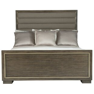 Profile Upholstered Panel Bed