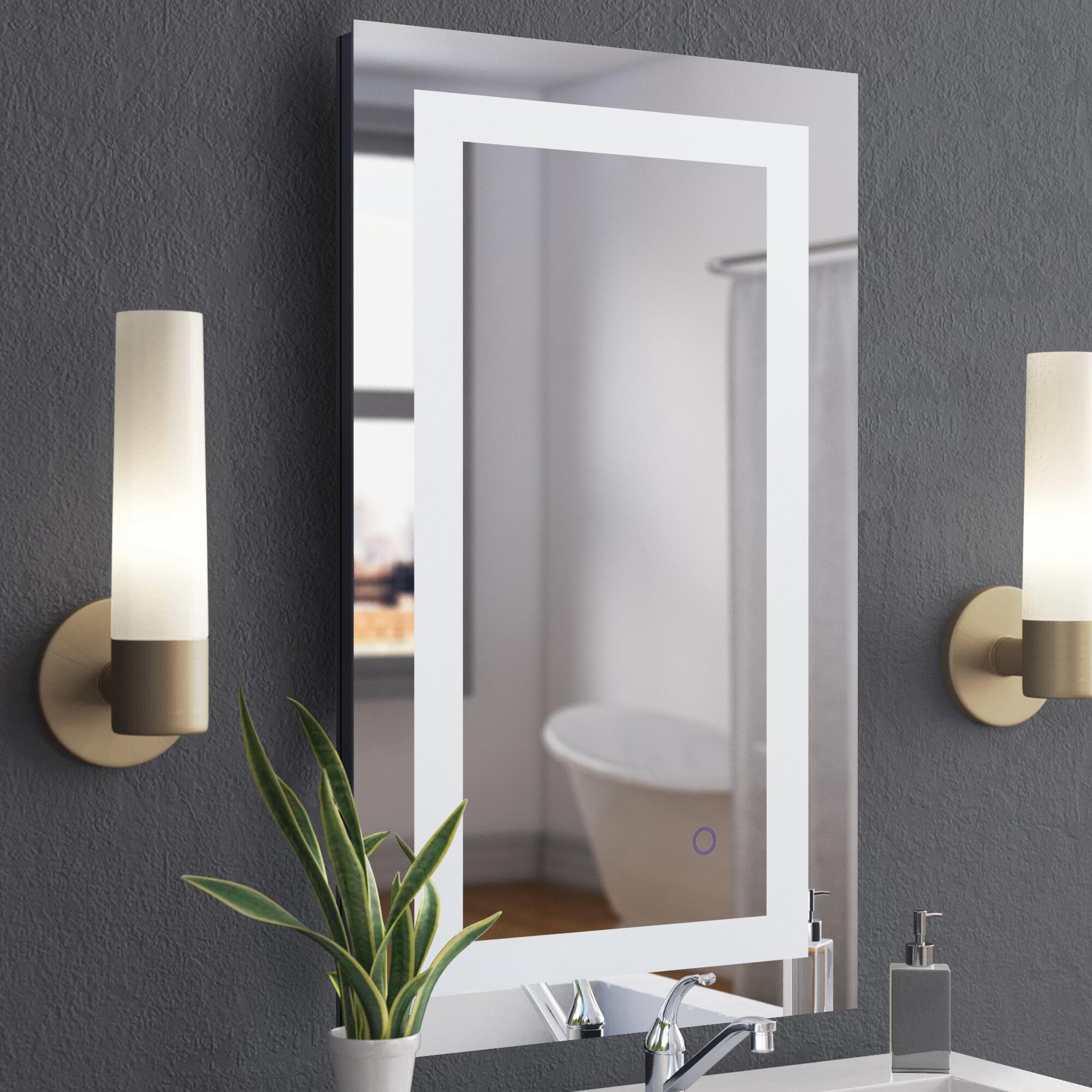 Wade Logan Langport Bathroom Vanity Mirror Reviews Wayfair