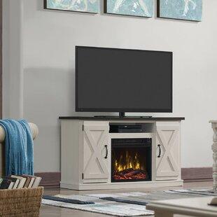 Cream Fireplace Tv Stand Wayfair