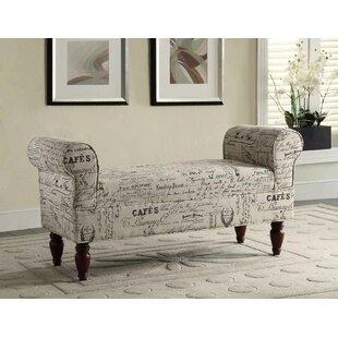 Roundhill Furniture Aspell Upholstered Bench