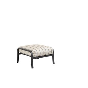 Terrabay Ottoman with Cushion by Outdoor Masterpiece