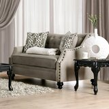 Naes 65 Recessed Arm Loveseat by Astoria Grand