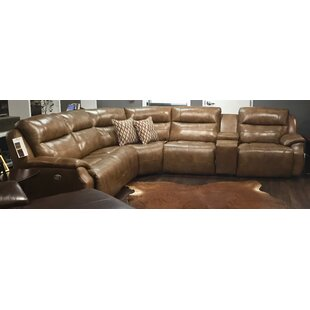 Five Star Reclining Sectional by Southern Motion New