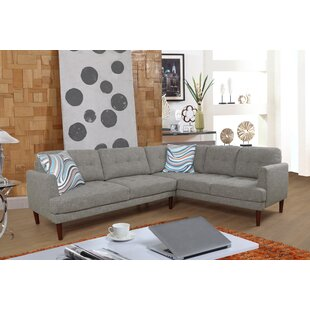 Wrought Studio Mayville Sectional