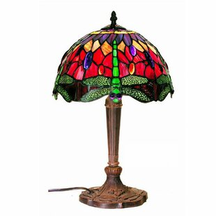 Inexpensive Dragonfly 19 Table Lamp By Warehouse of Tiffany