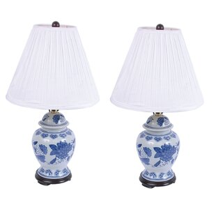 Ceramic Ginger 24.5 Table Lamp (Set Of 2) by DEI Savings