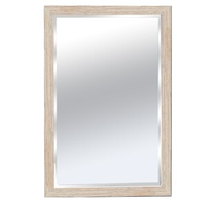 Wood Framed Bathroom Wall Mirror By Kingwin Home Decor