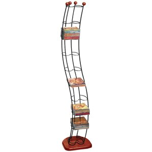Wave Multimedia Storage Rack by Atlantic