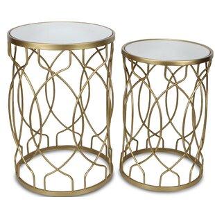 Elbert 2 Piece Nesting Tables by Wrought Studio