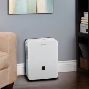 30 Pint Portable Dehumidifier with Casters