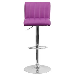Alandra Adjustable Height Swivel Bar Stool