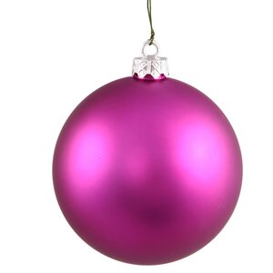 Glitter Christmas Ball Ornament with Cap (Set of 12)