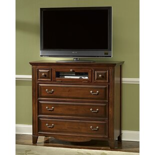 Alcott Hill Holden 5 Drawer Media Chest