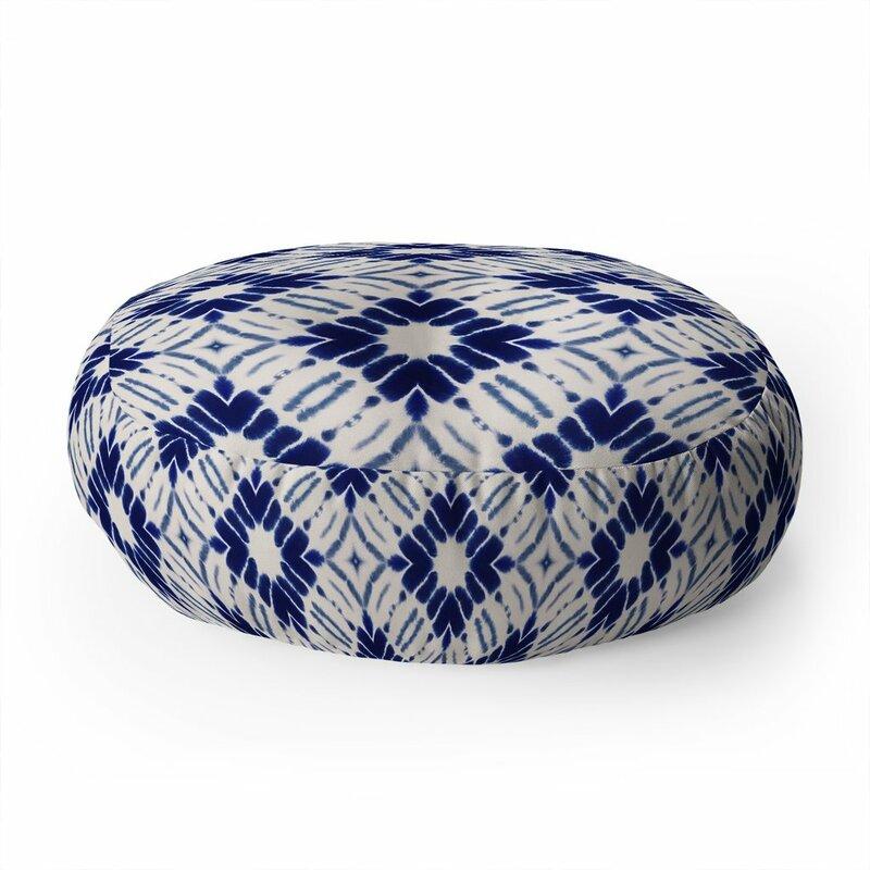 East Urban Home Jacqueline Maldonado Shibori Floor Pillow Wayfair