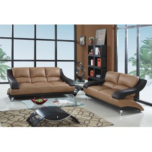 Brantley Luxury 2 Piece Living Room Set by Latitude Run