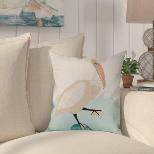 Boubacar Bird Outdoor Throw Pillow