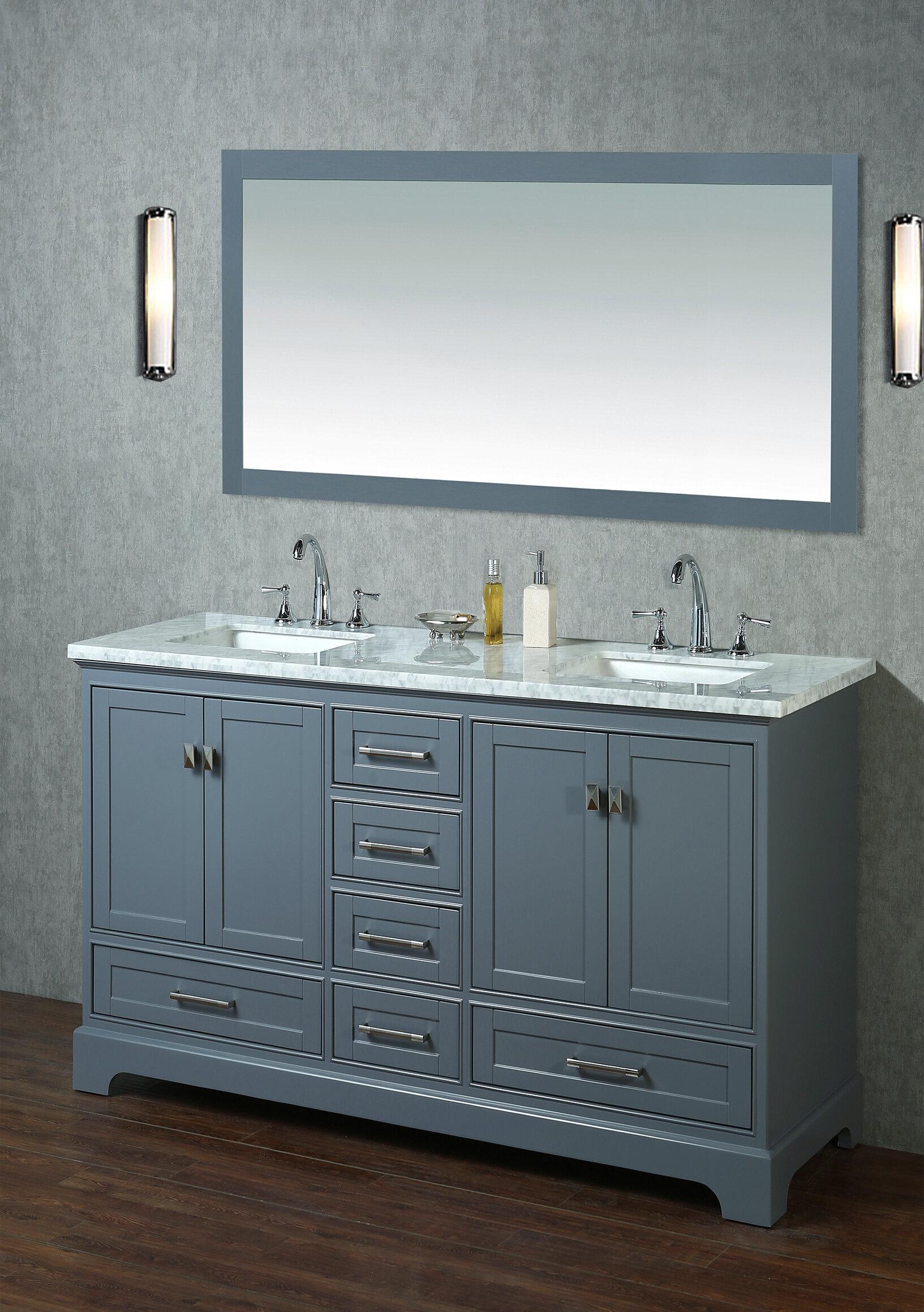 Stian 60 Double Sink Bathroom Vanity