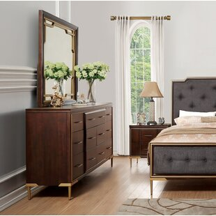 Laufer Rectangular Dresser Mirror by Everly Quinn Sale
