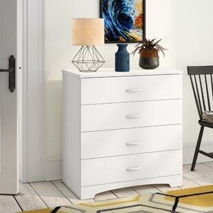 Affordable Step One 4 Drawer Dresser Chest by South Shore