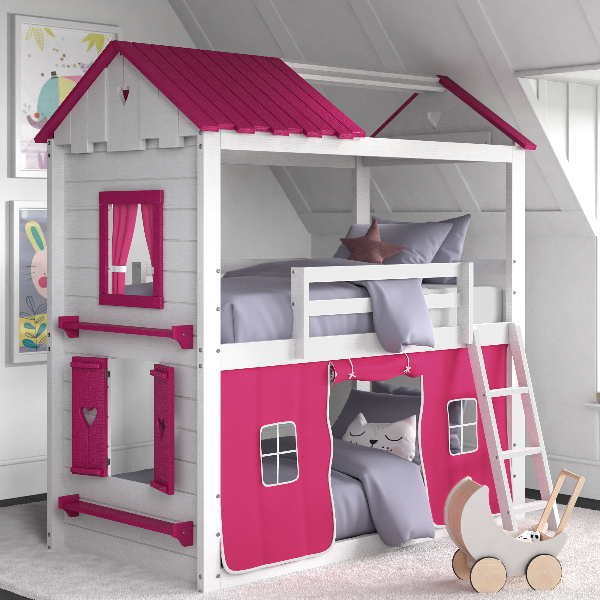 Kids Tent Beds Wayfair