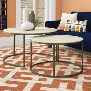 Masuda 2 Piece Coffee Table Set by Brayden Studio Herry Up
